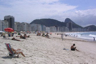 Rio's Charming Copacabana Beach