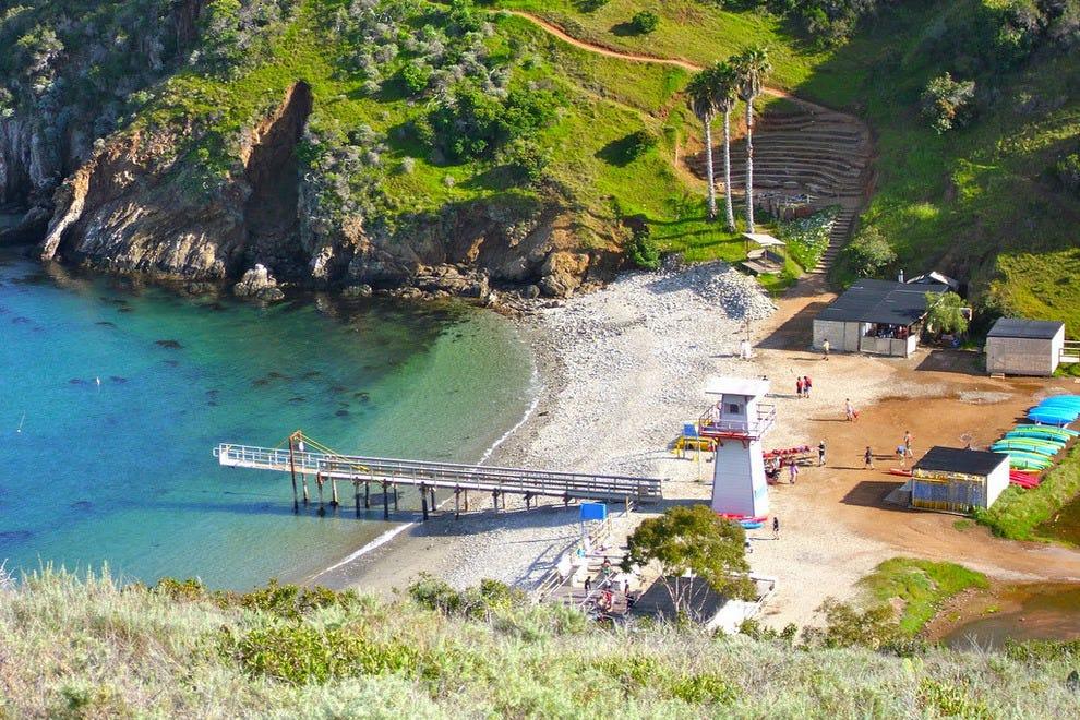 Cherry Cove on Catalina Island