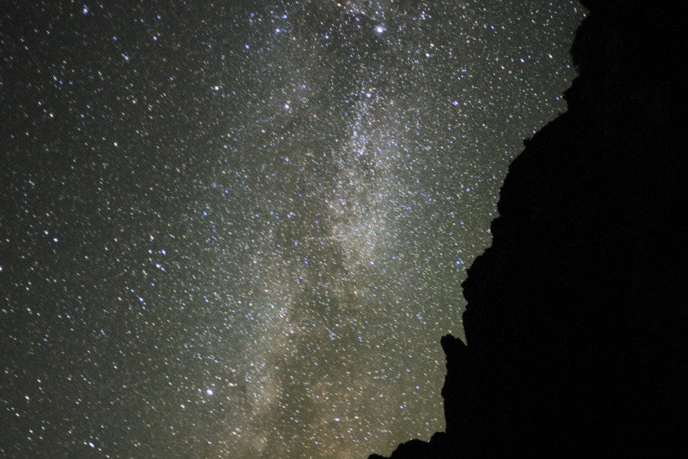 Night sky at Grand Canyon National Park