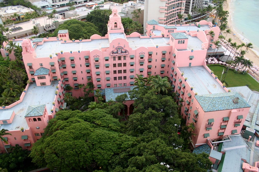 The Pink Palace of the Pacific