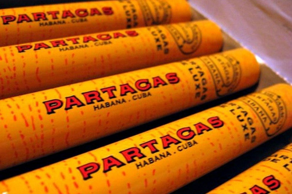 Partagas is one of more than 30 Cuban cigar brands available at J&J Habanos