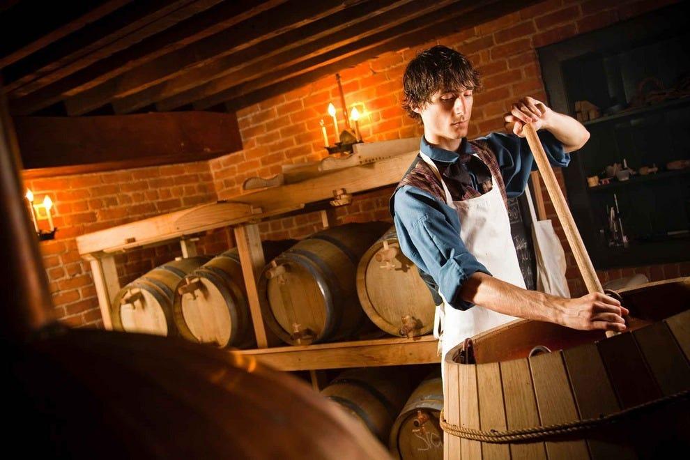 Black Creek brewmaster at work