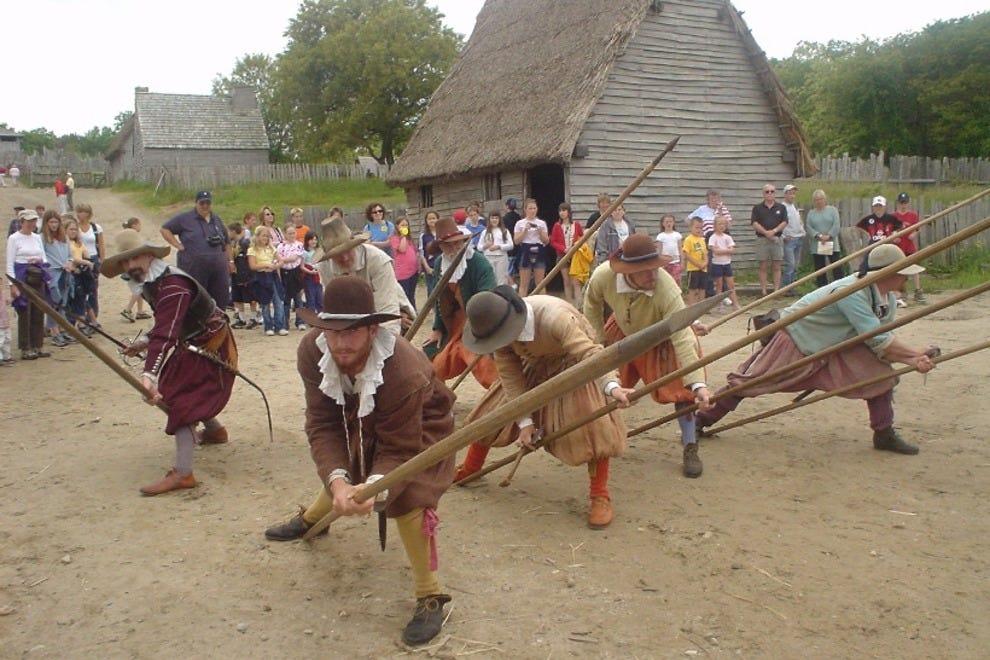 Reenactors at Plimoth Plantation
