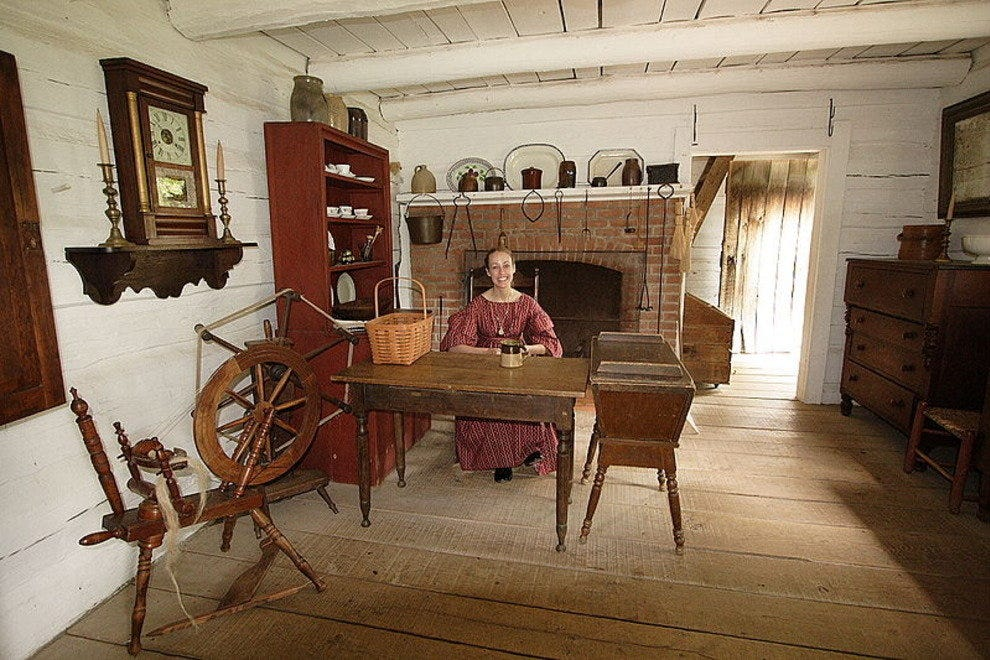 Sam Hill residence in Lincoln's New Salem