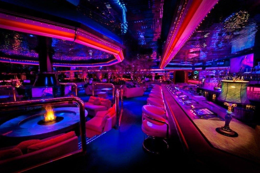The Fireside Lounge at the Peppermill
