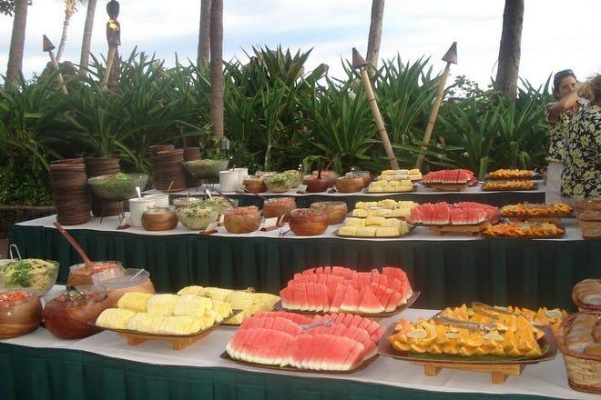 Buffet in Honolulu