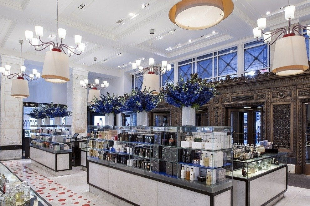 Fragrance Hall at Selfridge's