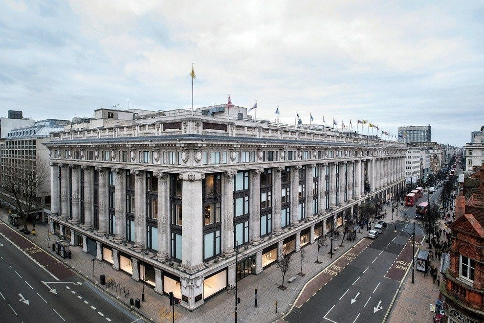 Selfridges: A London Landmark