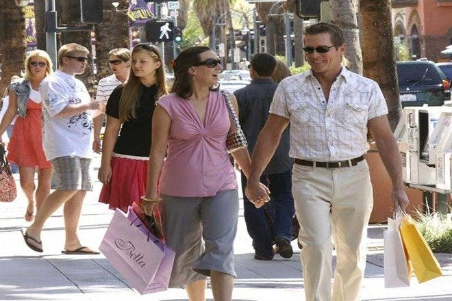 Shopping Malls and Centers in Palm Springs