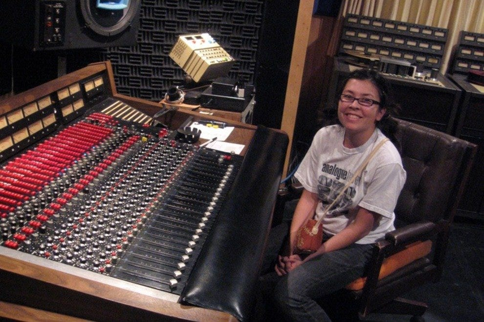 Inside Muscle Shoals Sound Studio