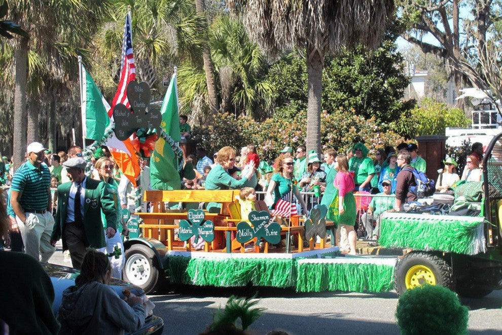 Annual St. Patrick's Day Parade in Savannah