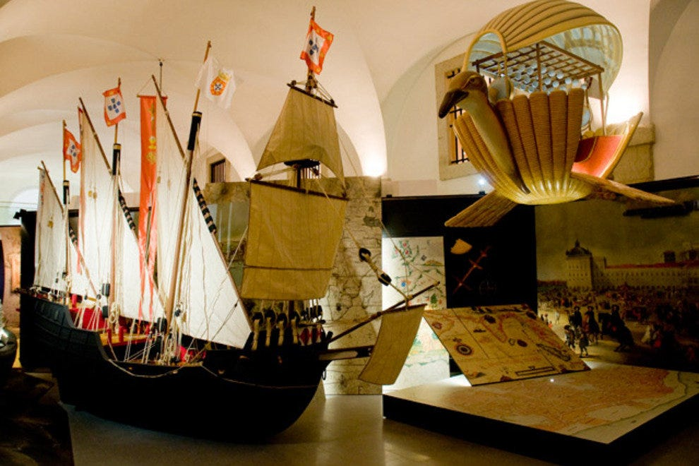 The history of Lisbon under one roof at the Lisboa Story Centre.
