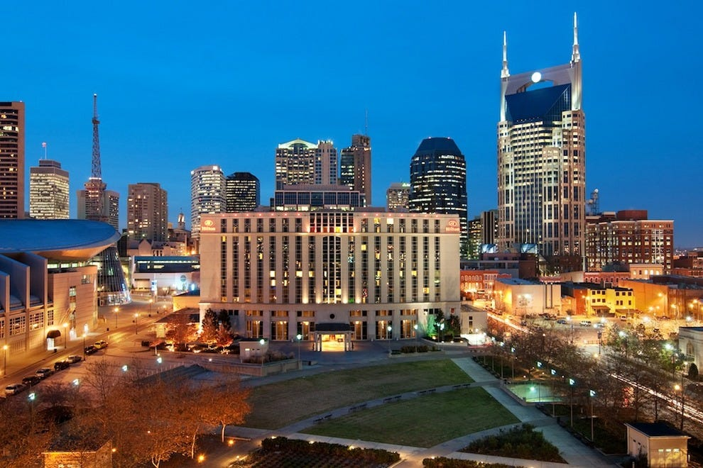 Best Hotels In Nashville Downtown