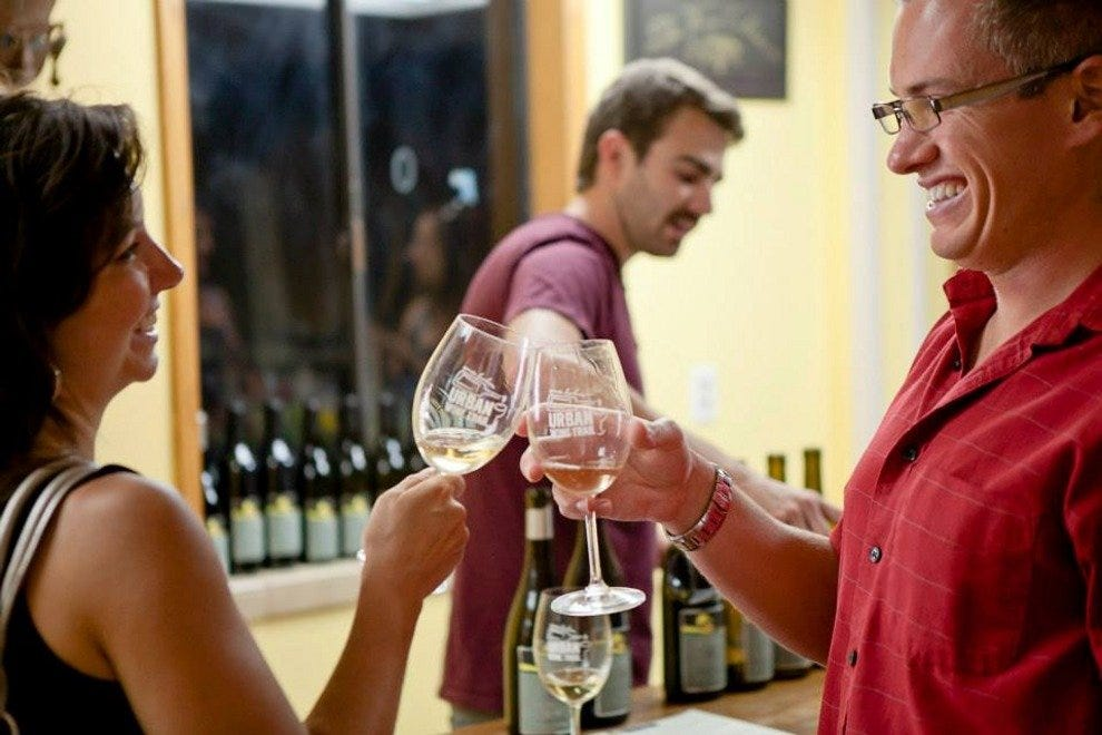 Sample local wines along Santa Barbara's Urban Wine Trail