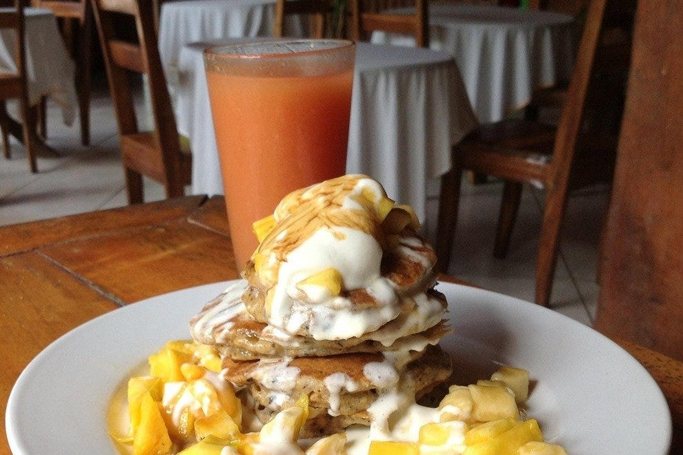"""Health Nut"" Pancakes at Lizard King Resort"
