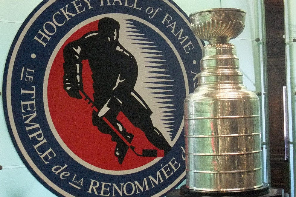 The Stanley Cup at Toronto's Hockey Hall of Fame