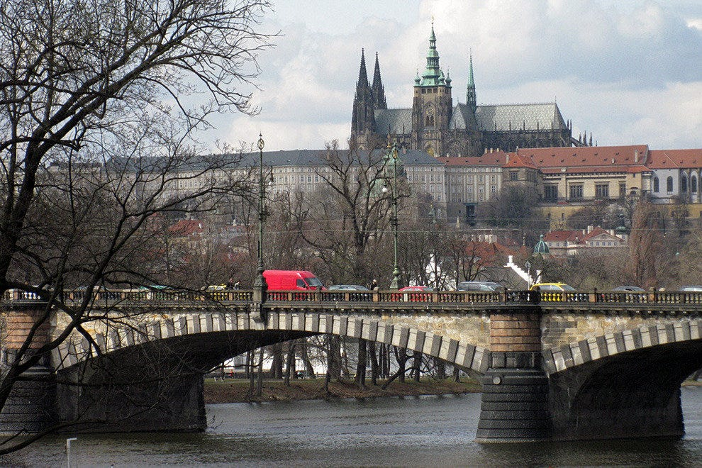 Prague Castle and St Vitus Cathedral