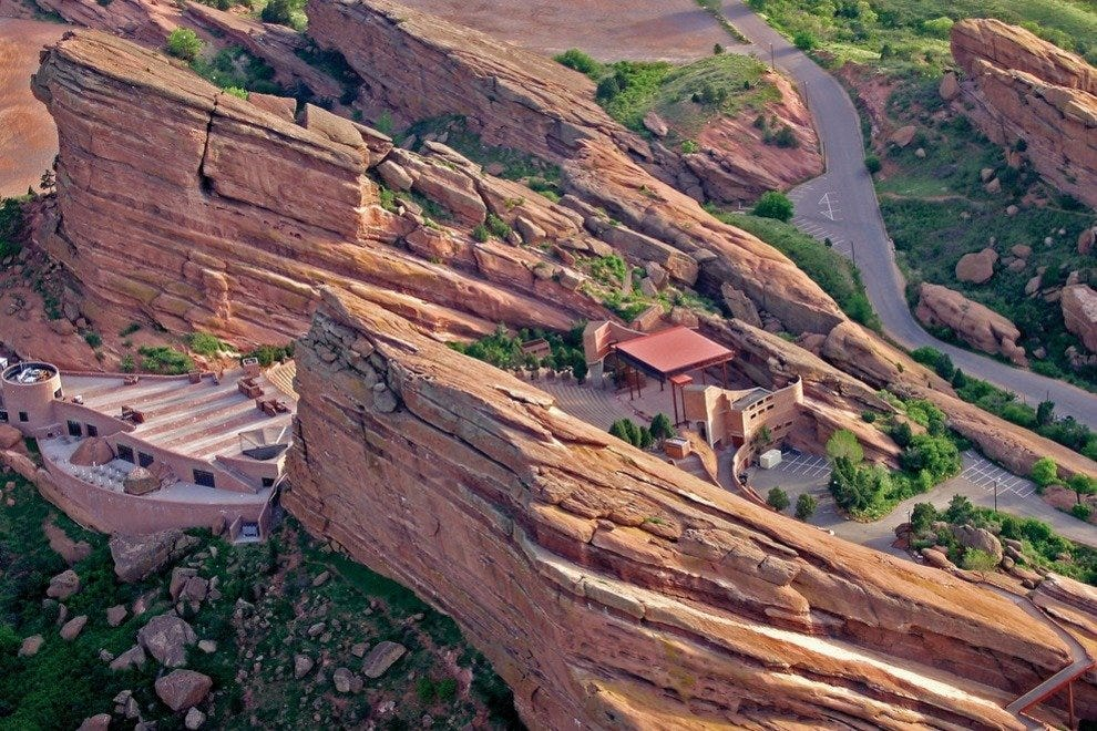 Red Rocks Amphitheatre and Park is one of the world's most famous concert venues
