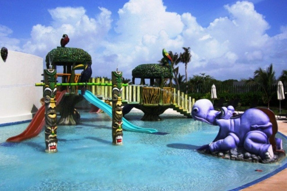 Cool off in The Little Big Club waterpark