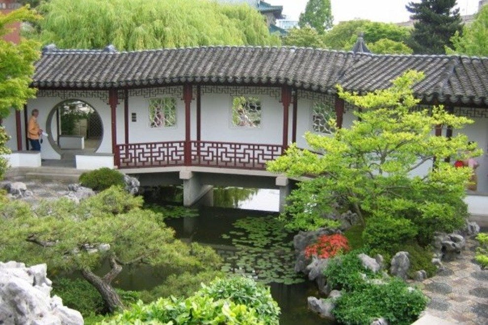 A view of Dr. Sun Yat-Sen Classical Chinese Garden