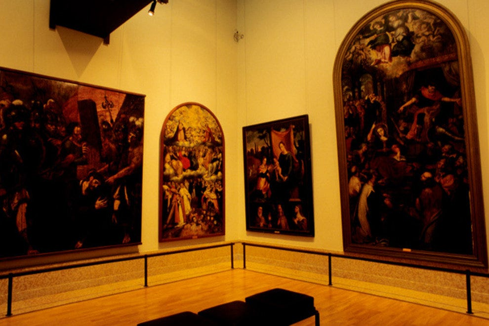 Portugal's national art collection is housed in the Museu Nacional de Arte Antiga