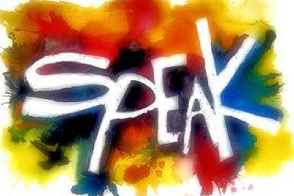 Speak! Fridays