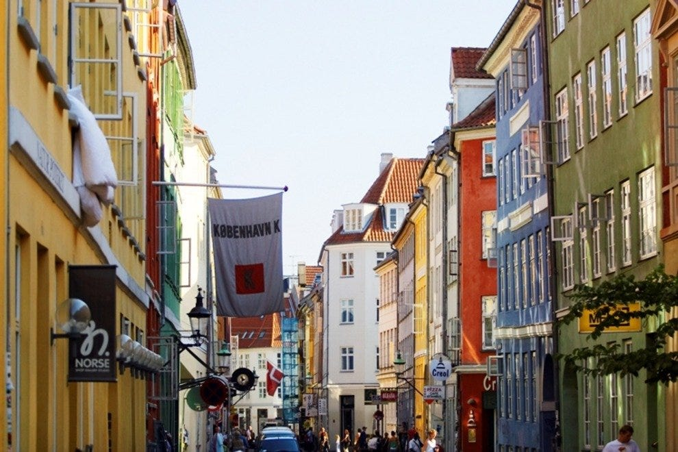Shopping on Copenhagen's side streets is much more exciting.
