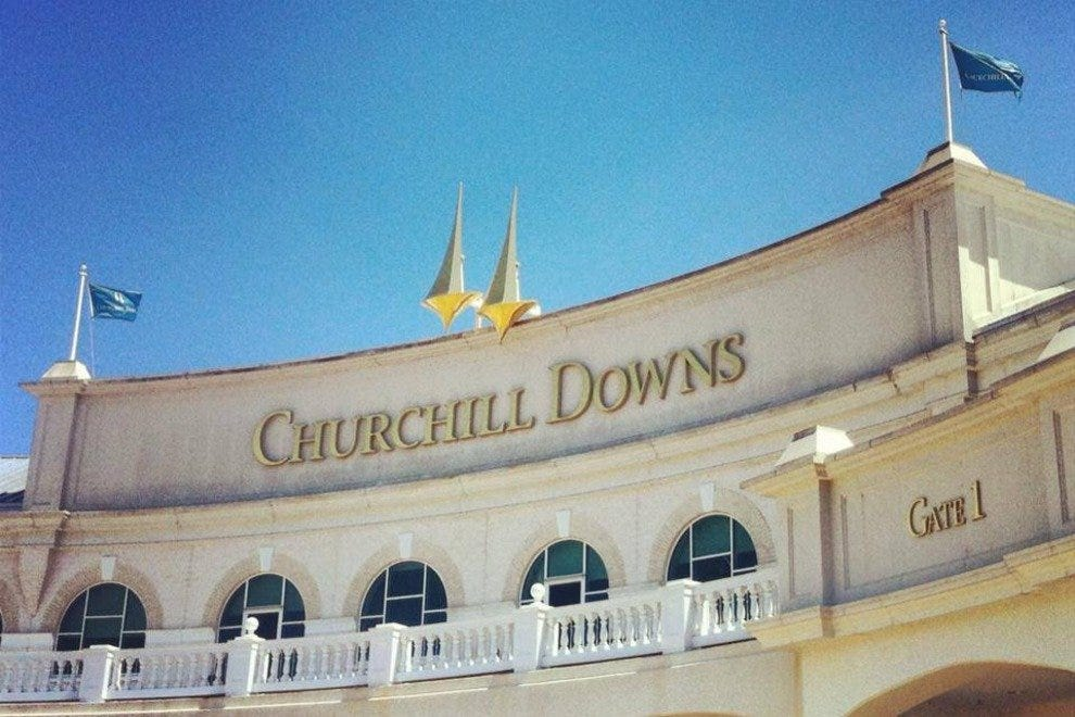 Churchill Downs, Lexington Kentucky, home of the Kentucky Derby