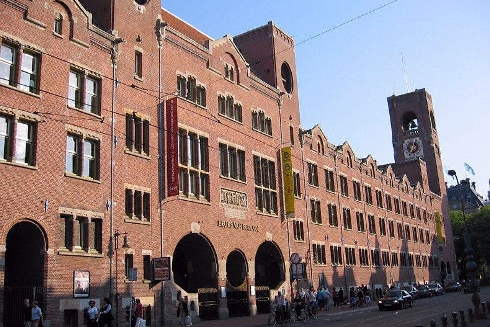 Beurs van Berlage (Old Stock Exchange)