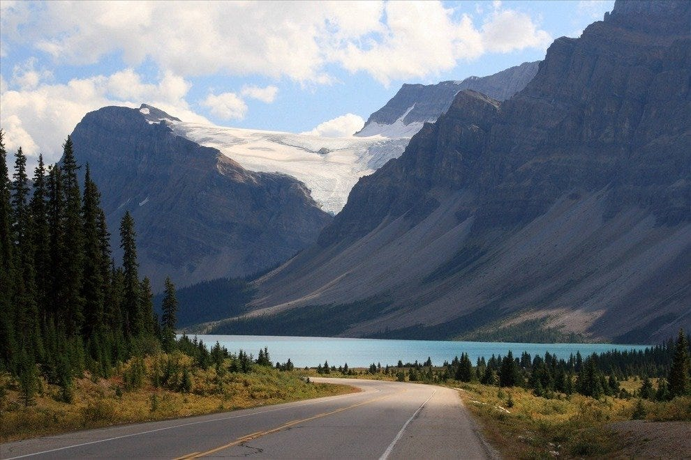 Road in Banff National Park