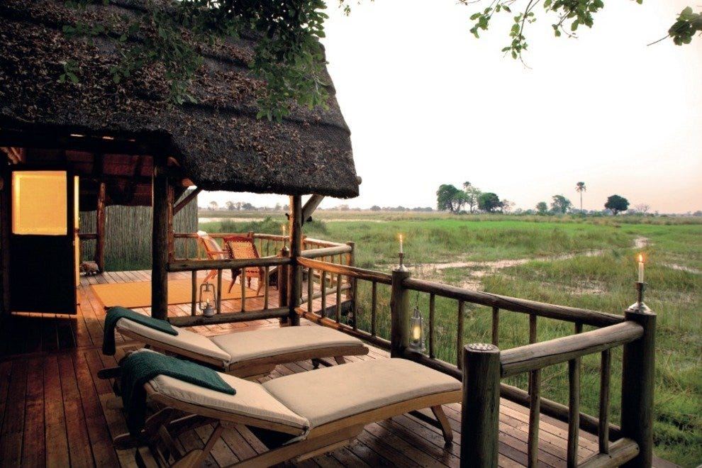 Spot elephants from your private terrace