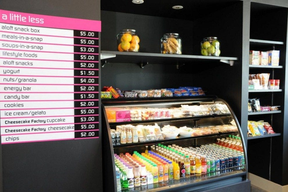 Aloft's grab-and-go pantry