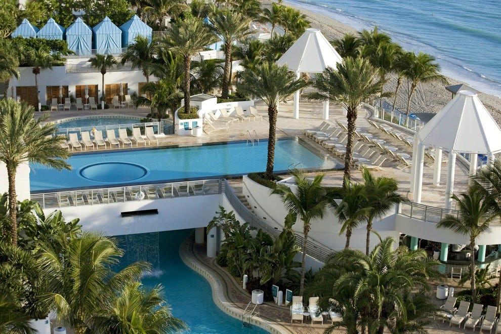 Seaside pool at the Westin Diplomat Resort & Spa