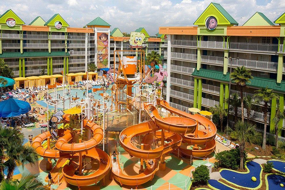Nickelodeon Suites Resort In Orlando Fl