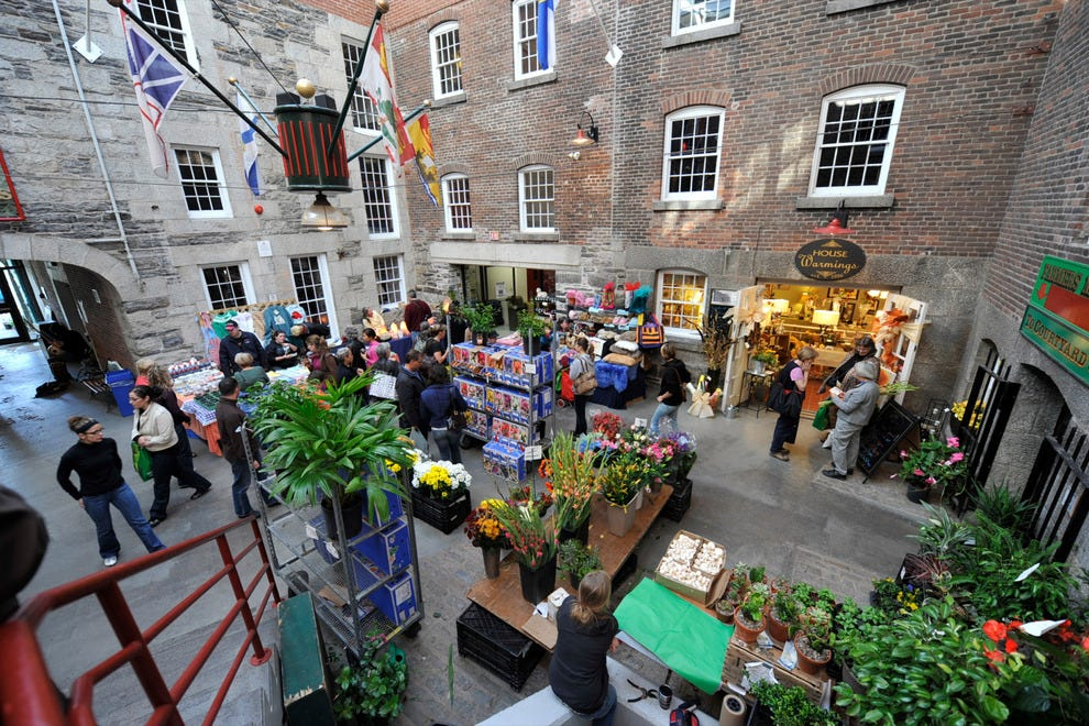 Historic Farmers Market in downtown Halifax