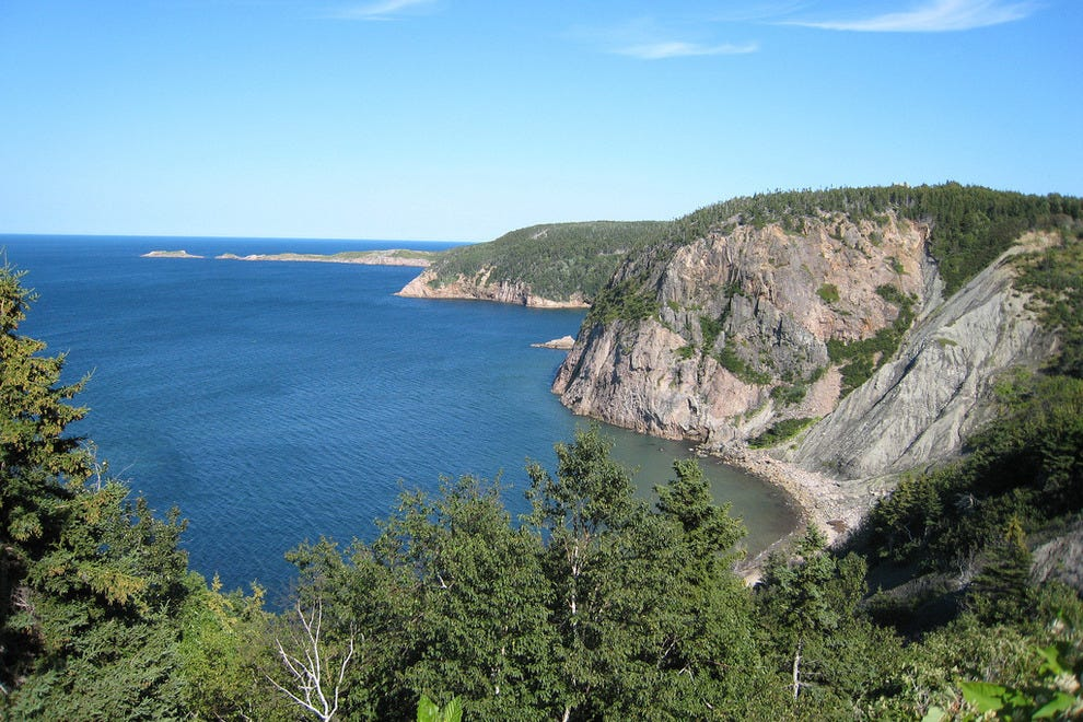 Cape Breton Island coastal view