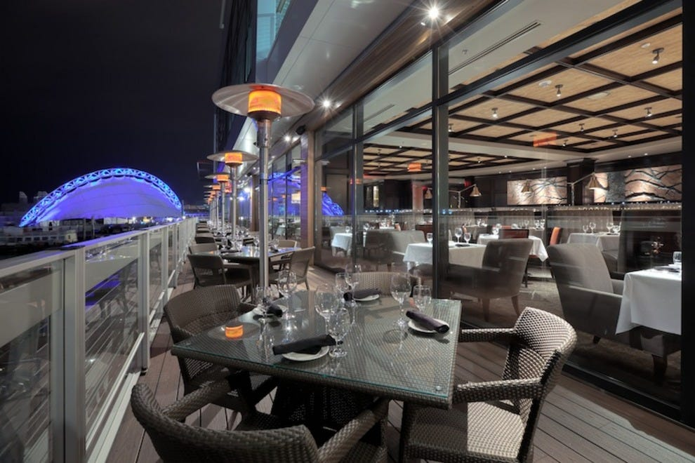 Al Fresco Dining Along Boston S Waterfront Restaurants