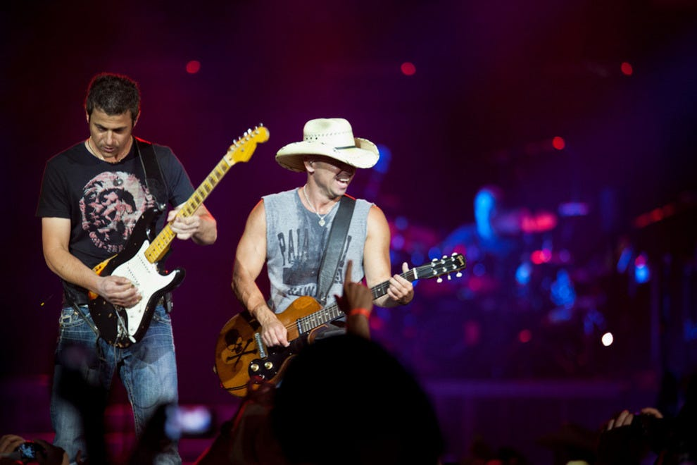 Kenny Chesney takes the stage at Calgary Stampede