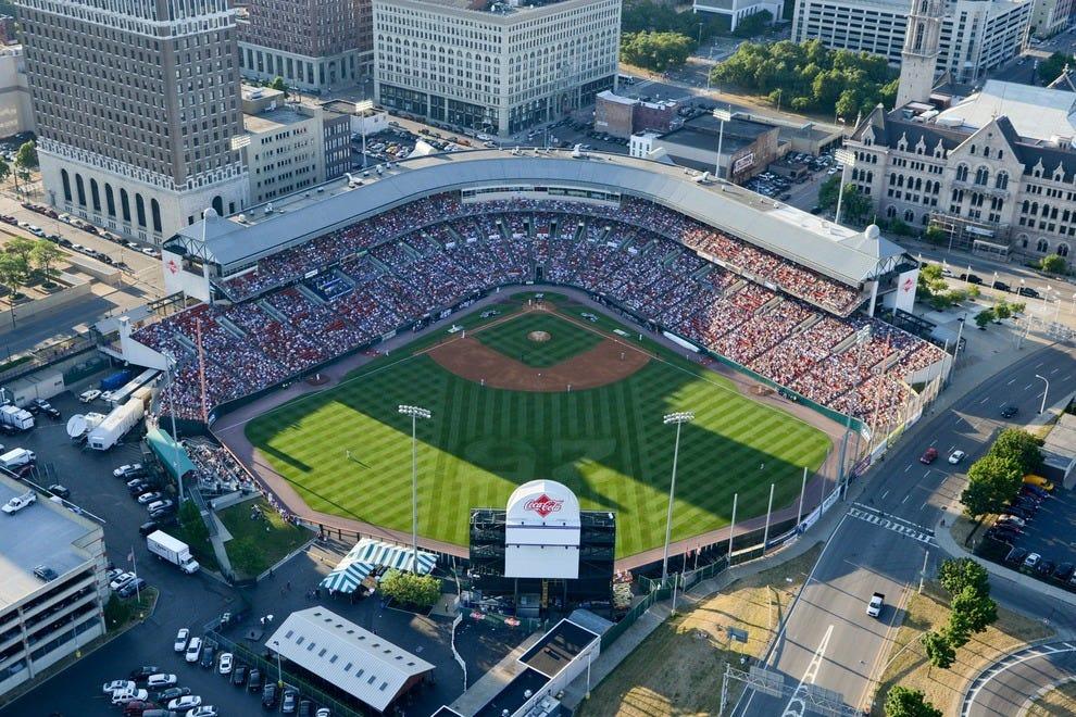 Best Minor League Baseball Stadiums 10best Readers Choice Awards