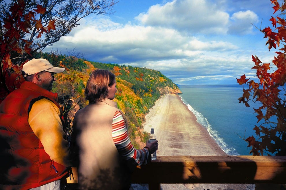 Hiking the Fundy Trail