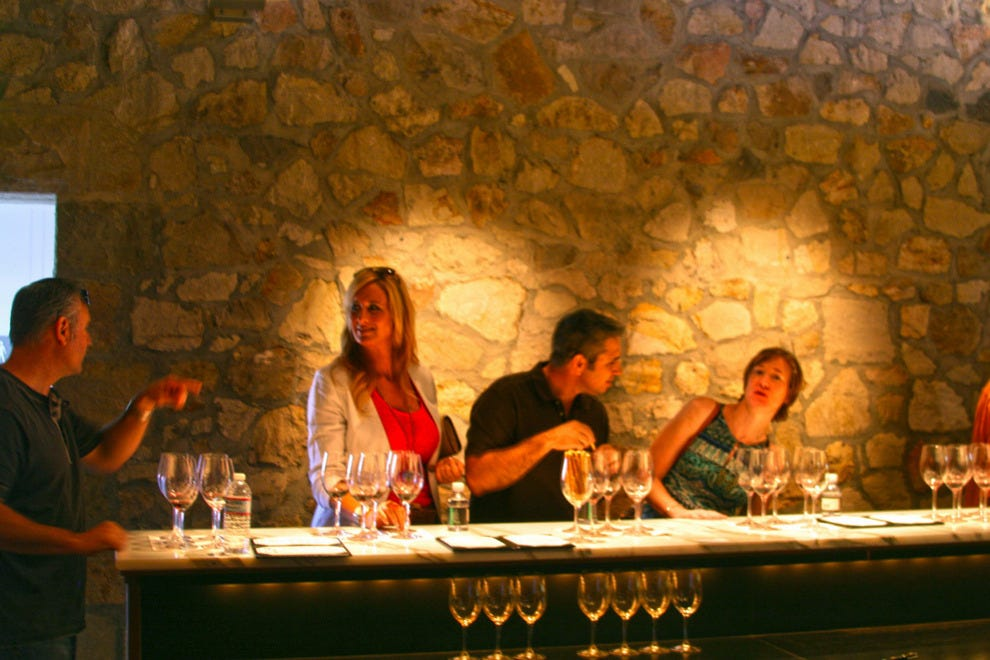 Georges de Latour private reserve tasting room, Beaulieu Winery