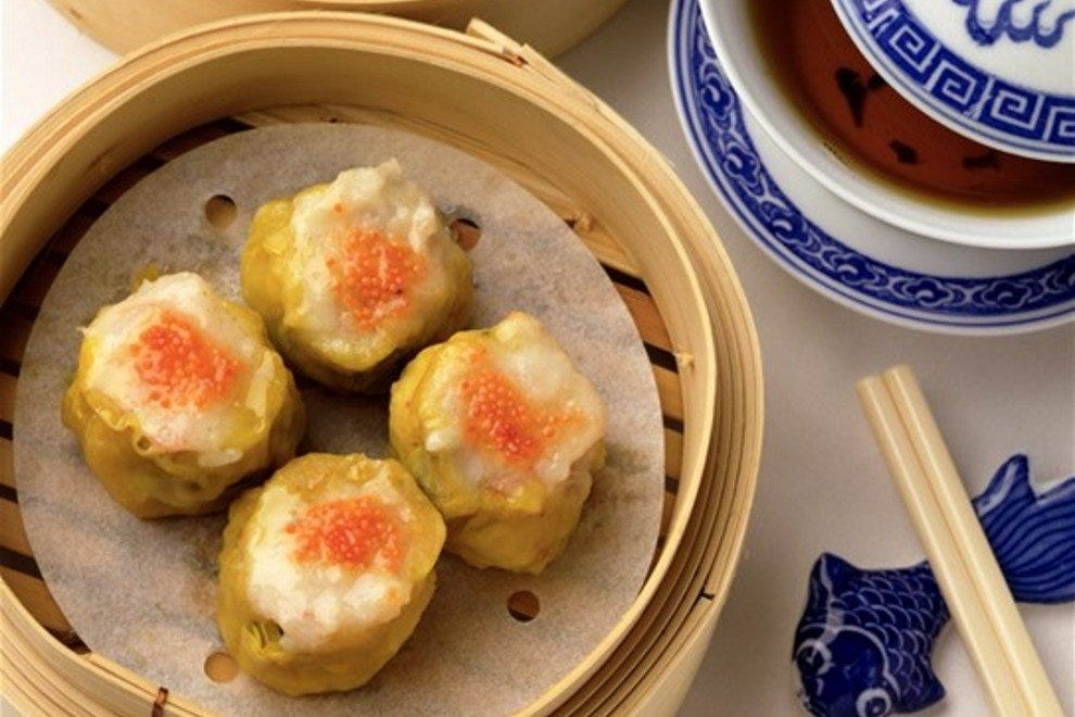 Artistic, yummy and mouthful, dim sum is the perfect company to a date.