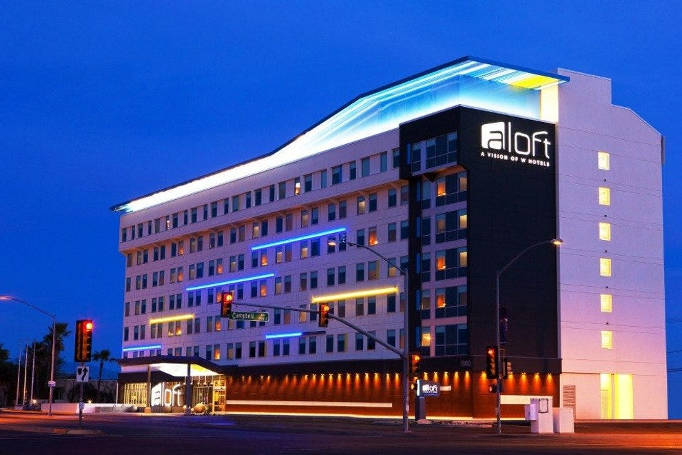 Aloft Tucson University is the newest hotel in the city's bustling University District