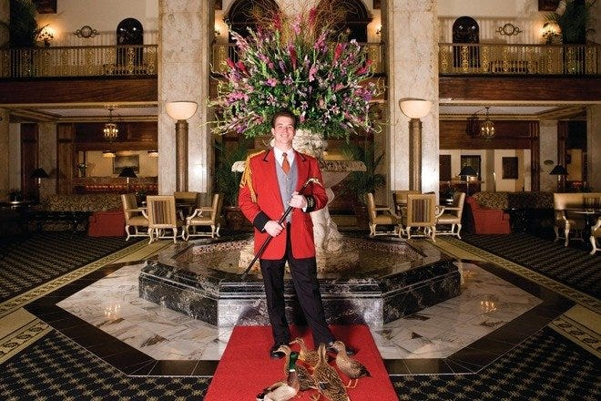 March of the Peabody Ducks