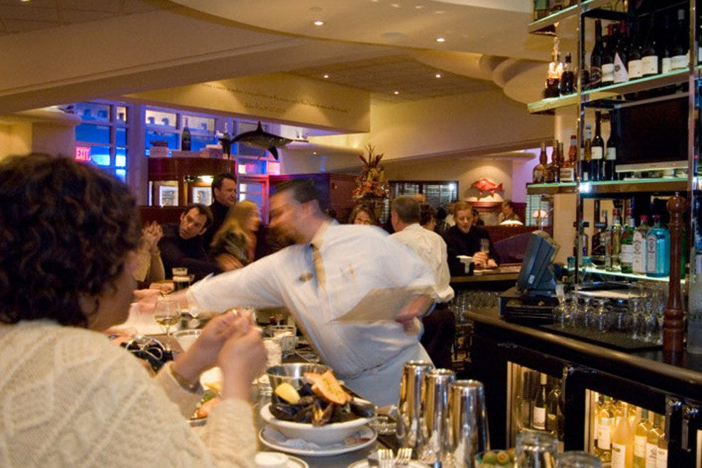 The Oceanaire Seafood Room: Baltimore Restaurants Review - 10Best ...
