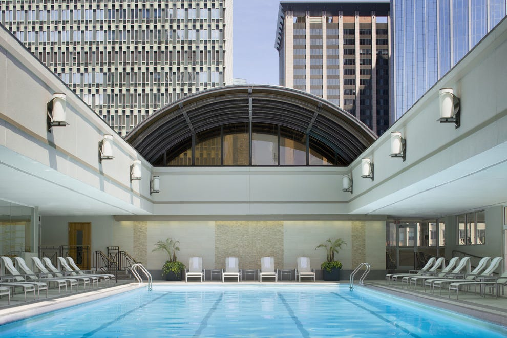 Hotels Near Td Garden With Indoor Pool