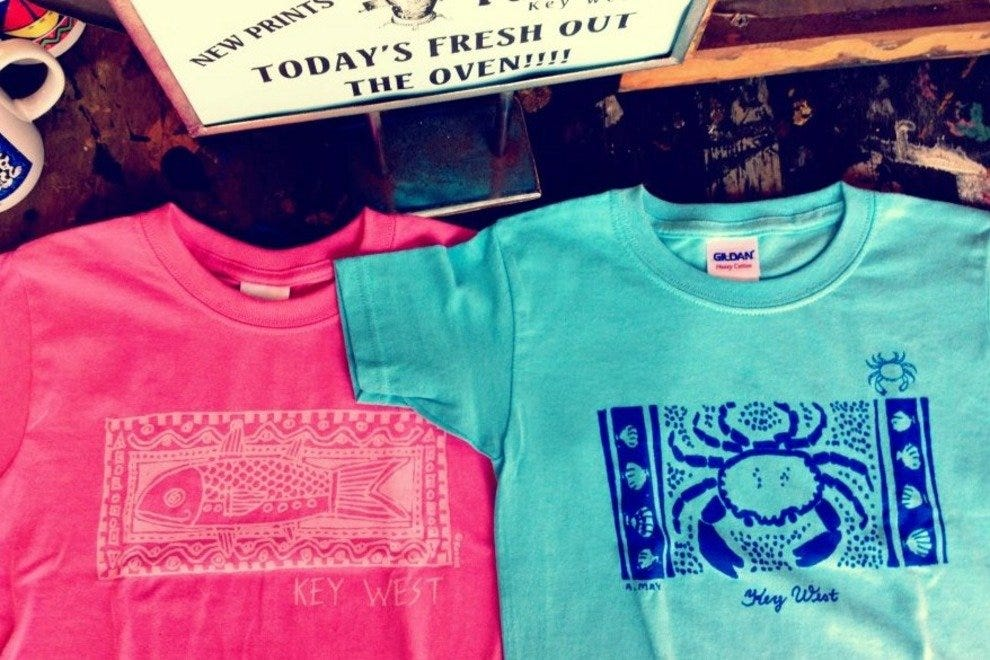 Key West Hotels >> Key West T-Shirt Factory: Key West Shopping Review ...