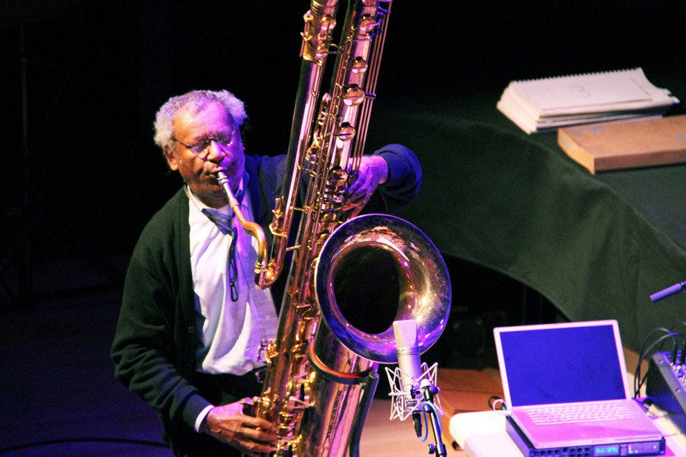 Anthony Braxton at Roulette