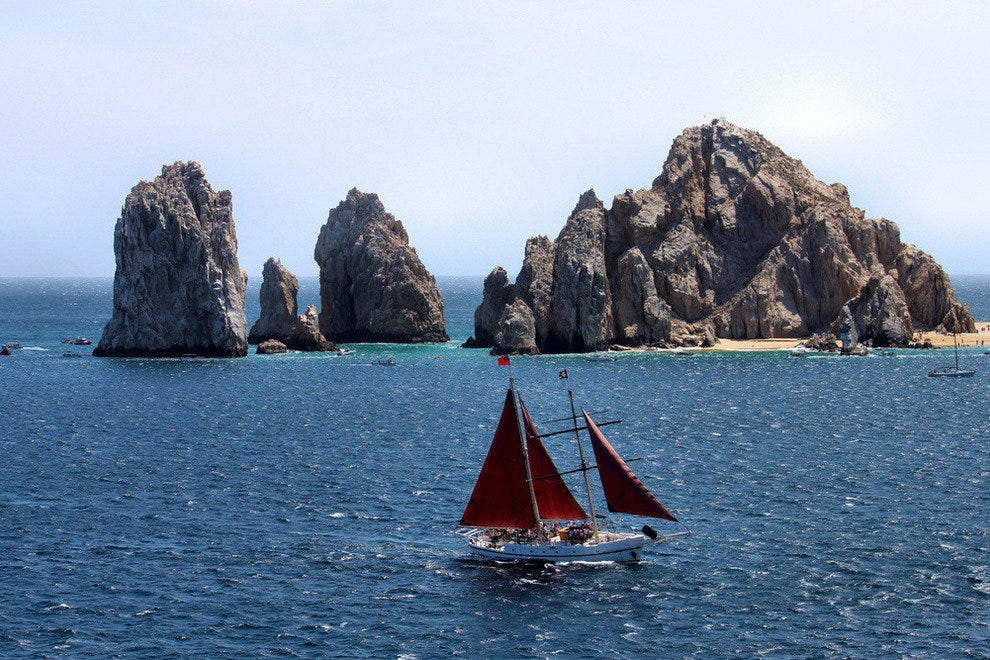 Rock formations near Cabo San Lucas