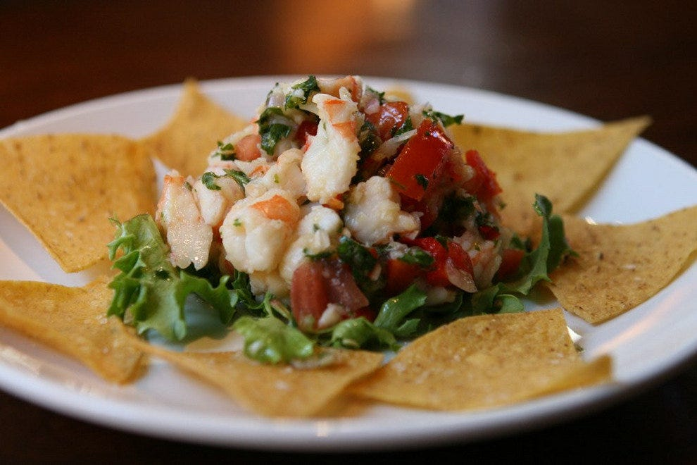 Shrimp Ceviche from Amen Street